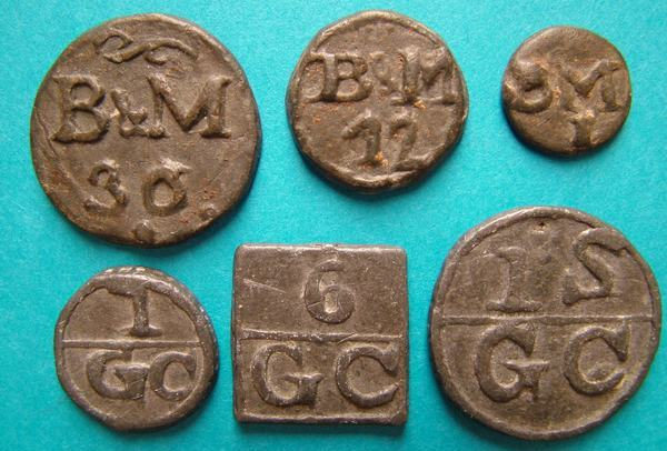 Hop Tokens used as an on-the-job currency