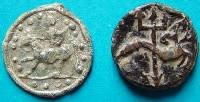 Two small Roman Tokens
